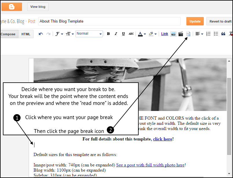 how-to-add-post-exceprts-blogger