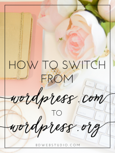 How to Switch from WordPress.com to WordPress.org