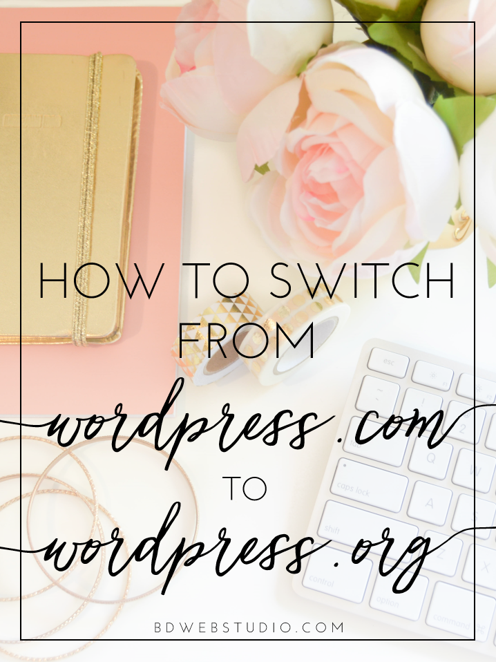 Learn how to switch from WordPress.com to WordPress.org and why you should!