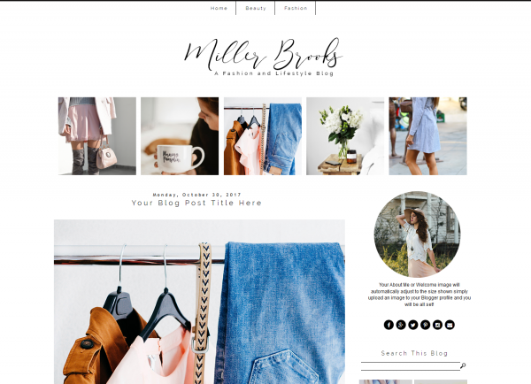Fashion Blogger Theme