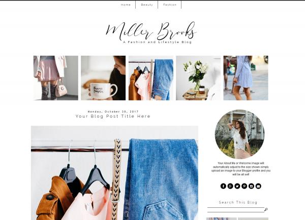 Fashion Blogger Theme