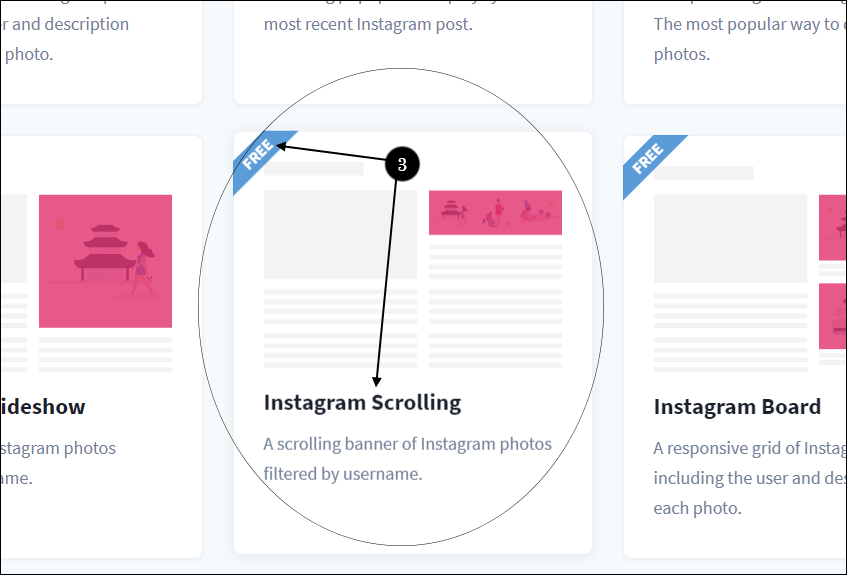 Add Instagram Footer on Blogger -3